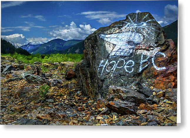 Greeting Card featuring the photograph Hope II by John Poon