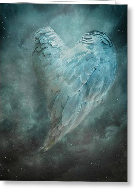 Hope Is The Thing With Feathers Greeting Card