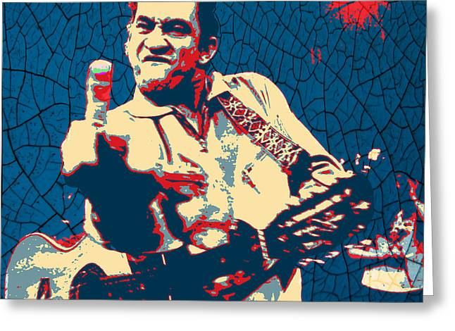 Hope - Johnny Cash Greeting Card