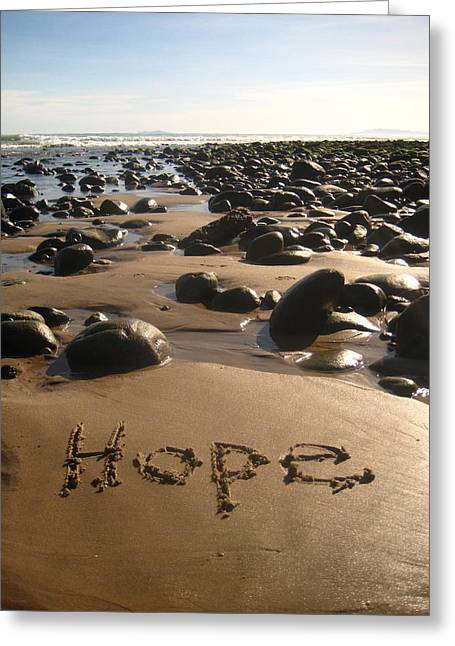 Hope Greeting Card by Sharon and Kailey Sayre