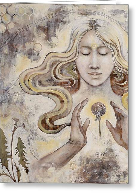 Hope Greeting Card by Sheri Howe