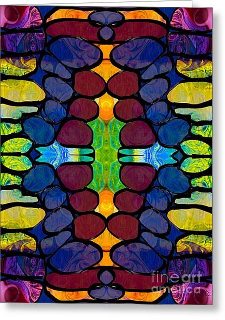 Hope Springs Eternal Abstract Creativity Artwork Greeting Card by Omaste Witkowski