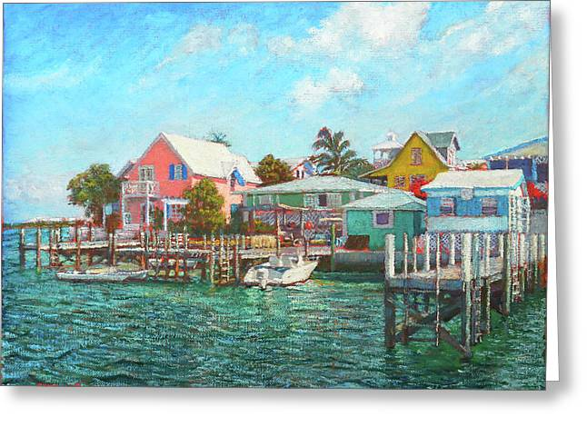 Hope Town By The Sea Greeting Card
