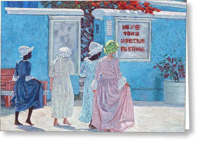 Hope Town Heritage Festival Greeting Card