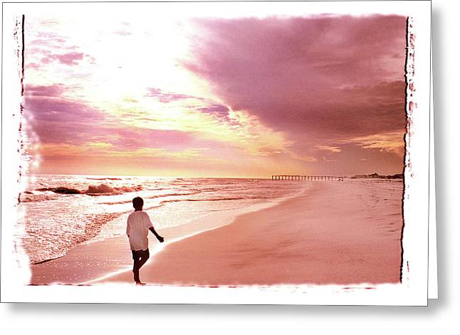 Greeting Card featuring the photograph Hope's Horizon by Marie Hicks