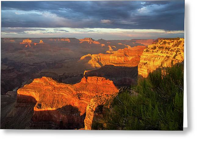 Hopi Point Sunset 1 Greeting Card