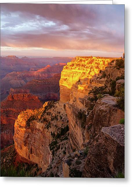 Hopi Point Sunset 2 Greeting Card