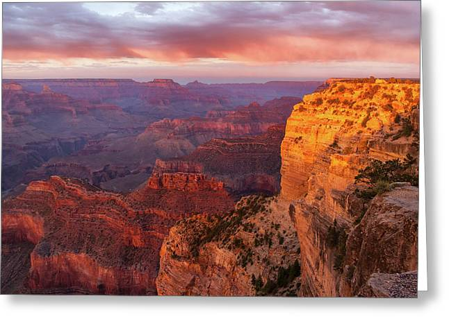 Hopi Point Sunset 3 Greeting Card