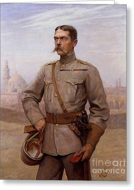 Horatio Herbert Kitchener Greeting Card by MotionAge Designs