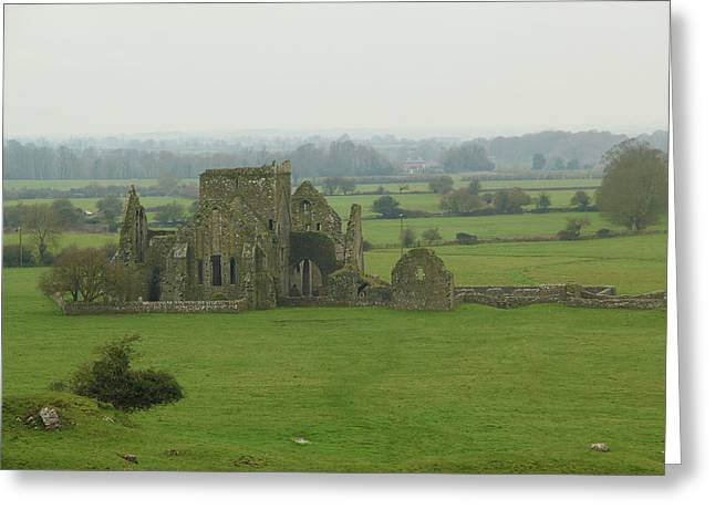 Hore Abbey Greeting Card by Marie Leslie
