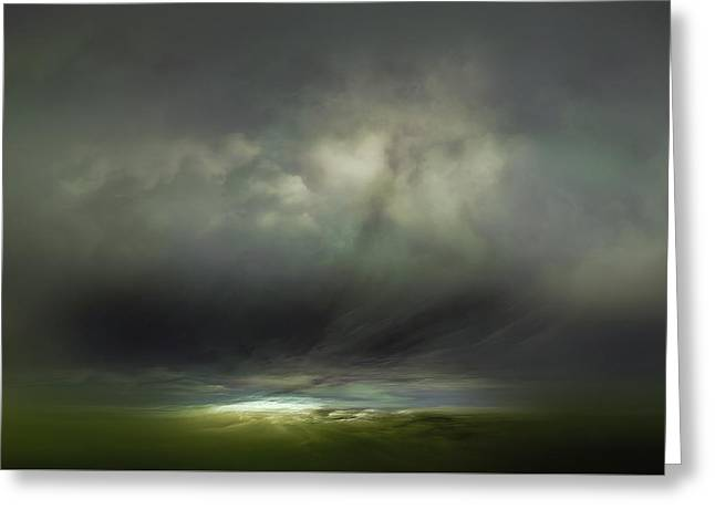 Horizon Greeting Card by Lonnie Christopher