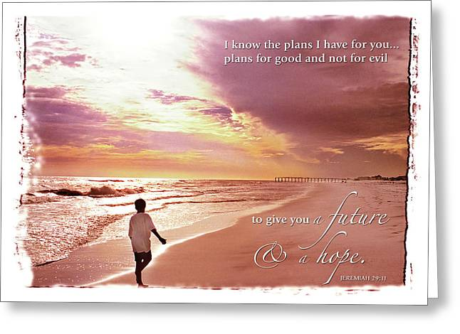 Horizon Of Hope Greeting Card