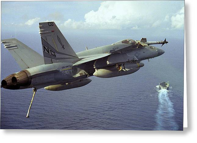 Hornet's Nest Greeting Card by Aviation Heritage