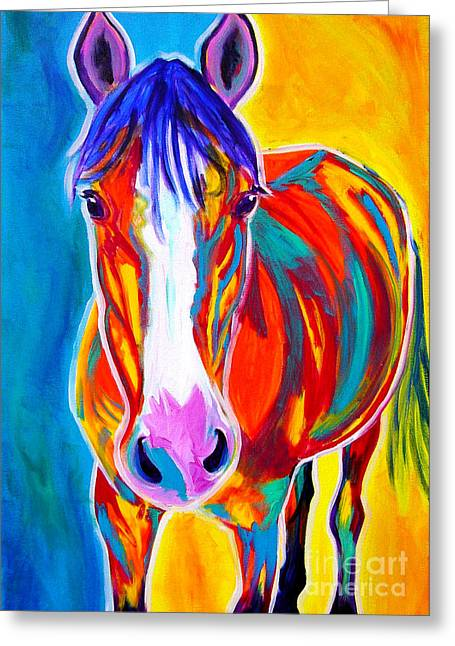 Horse - Pistol Greeting Card by Alicia VanNoy Call