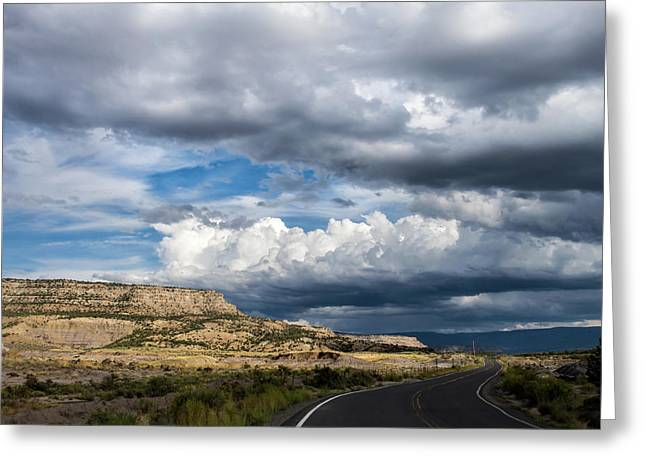 Horse Canyon By De Beque Colorado Greeting Card
