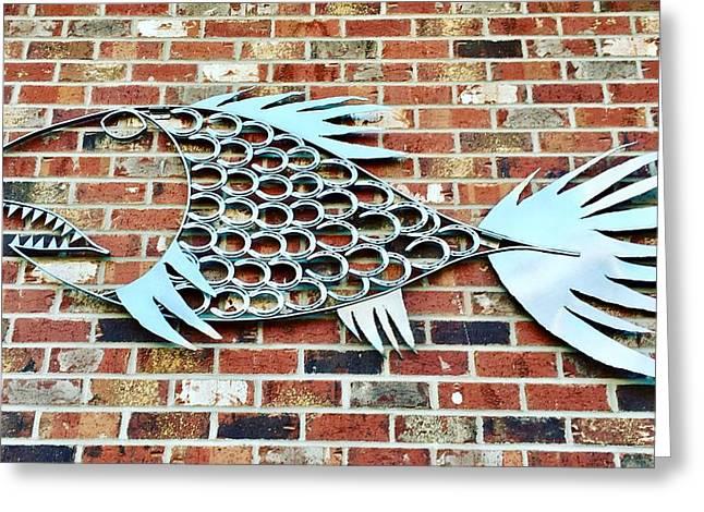 Fish Shoe  Greeting Card