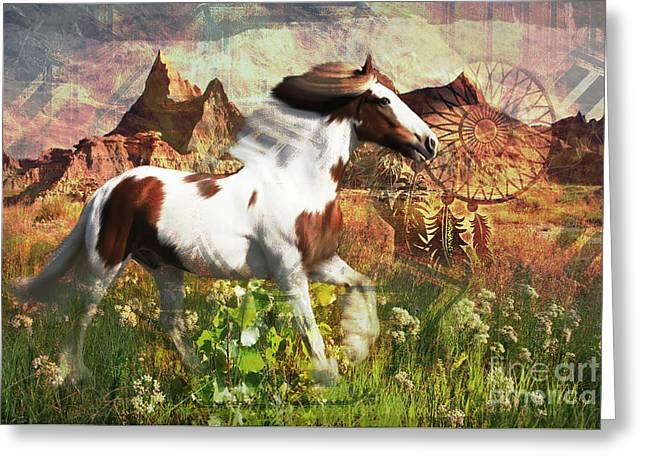 Horse Medicine 2015 Greeting Card