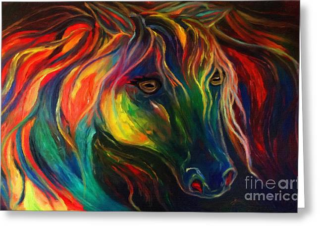 Horse Of Hope Greeting Card