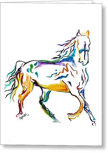 Horse Painting Sketch Painting By Amanda Sanford