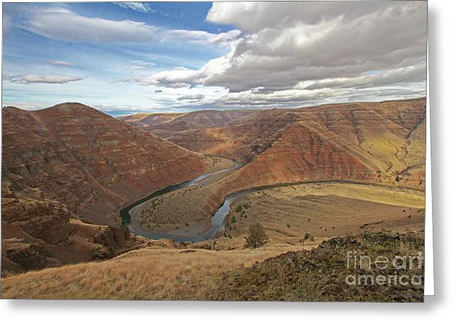 Horse Shoe Bend Greeting Card