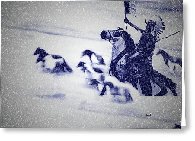 Horse Spirits Greeting Card