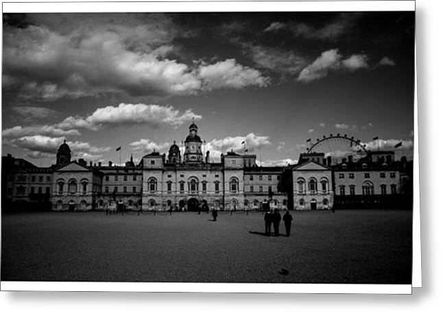 #horseguards #london #thisislondon #uk Greeting Card