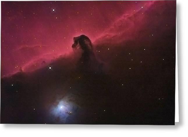 Horsehad Nebula II Greeting Card by Charles Warren