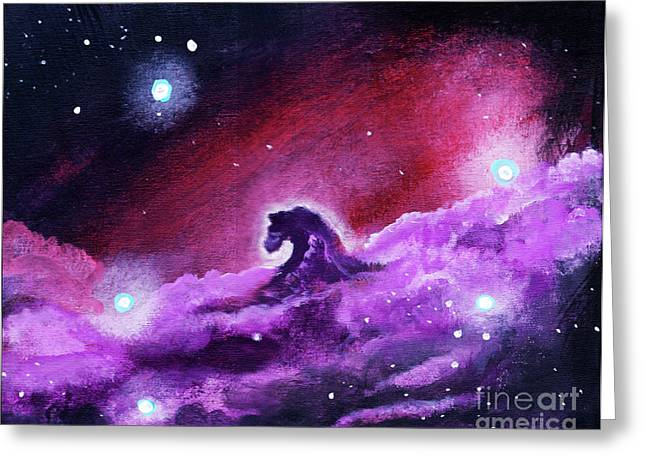 Horsehead Nebula 1 Greeting Card by Jamie Hartley