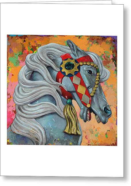 Horses #6 Greeting Card