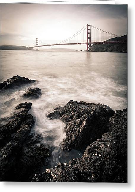 Horseshoe Bay Greeting Card by Michael Weber