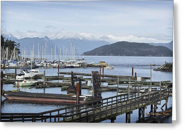 Horseshoe Bay Greeting Card by Tom Buchanan