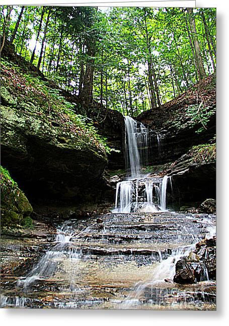 Horseshoe Falls #6736 Greeting Card by Mark J Seefeldt