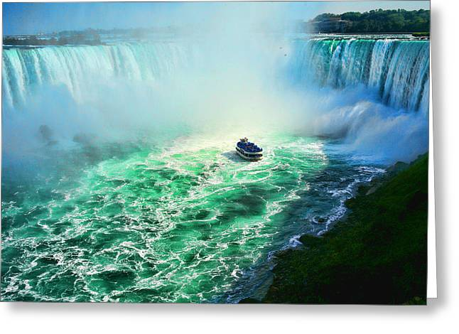 Horseshoe Falls Niagara Greeting Card