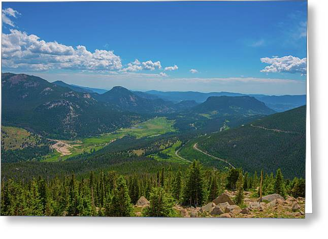 Horseshoe Park From Rainbow Curve 1 Greeting Card by Tom Potter