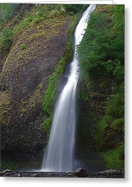 Horsetail Falls Greeting Card