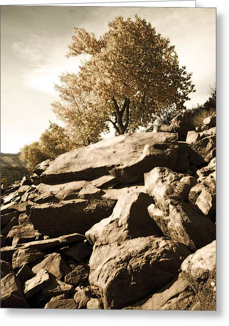 Horsetooth Reservoir 3 Greeting Card by Matthew Angelo