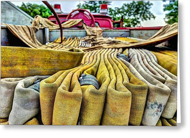 Hoses Greeting Card by JC Findley