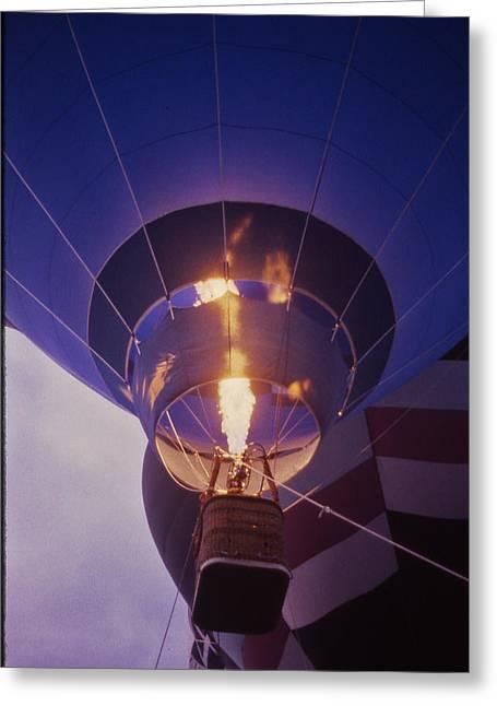Hot Air Balloon - 2 Greeting Card by Randy Muir