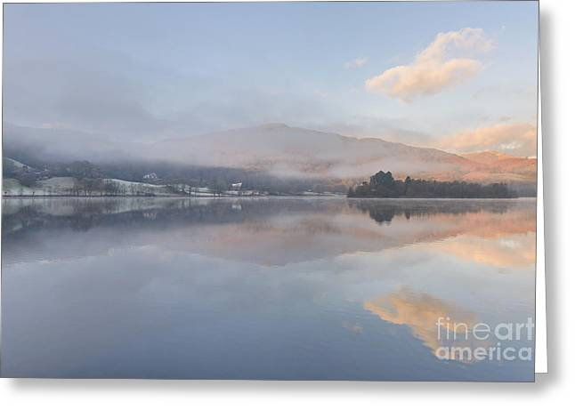 Hot And Cold Grasmere Lake District Greeting Card