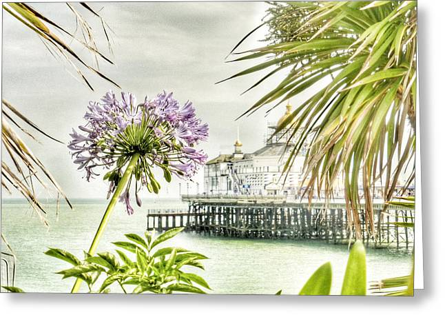 Hot Eastbourne Summer Greeting Card by Connie Handscomb