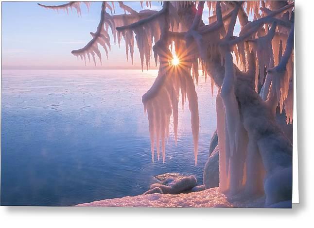 Hot Ice Greeting Card