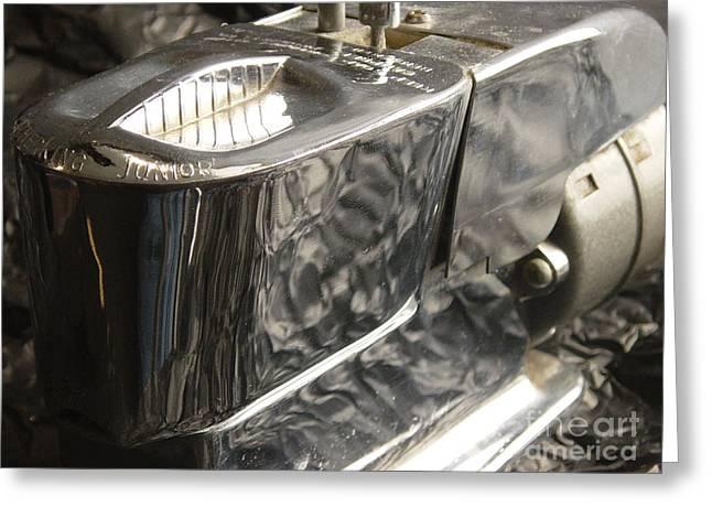 Hot Lather Shave Cream Dispenser Greeting Card by Jason Freedman