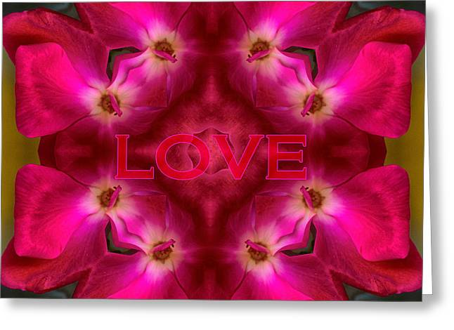 Hot Love Greeting Card