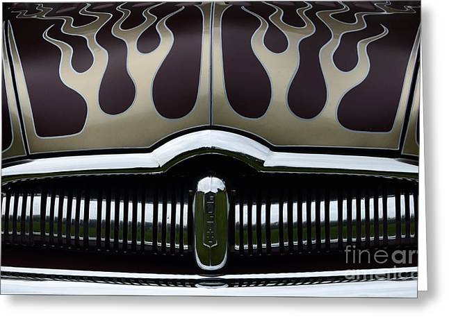 Hot Rod Beauty Of Design 3 Greeting Card by Bob Christopher
