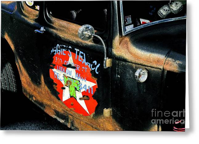 Hot Rod Greeting Card by David Lee Thompson