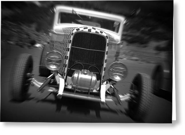 Hot Rods At Pendine 11 Greeting Card