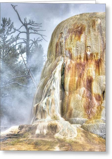 Hot Springs Greeting Card