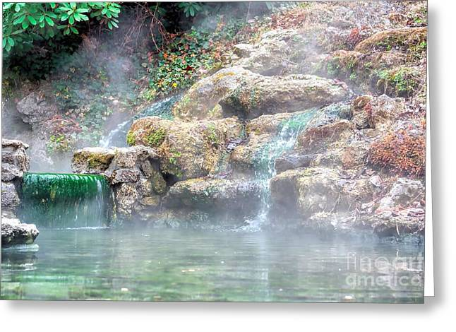 Greeting Card featuring the photograph Hot Springs In Hot Springs Ar by Diana Mary Sharpton