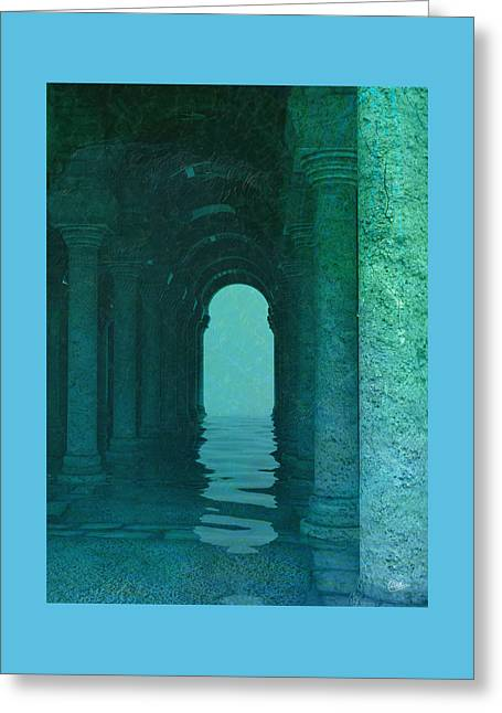 Hot Springs Thebes  Greeting Card by Quim Abella