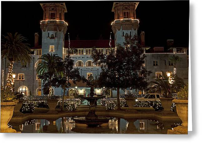 Hotel Alcazar Greeting Card by Kenneth Albin